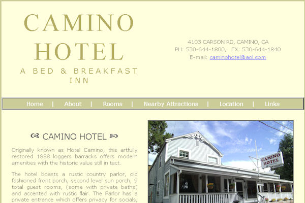 Camino Hotel Bed and Breakfast